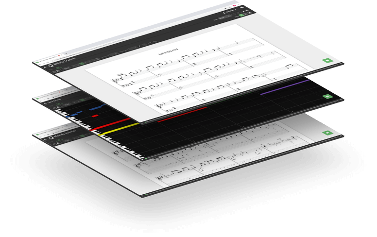 Melody Scanner - Automatic Music Transcription App!
